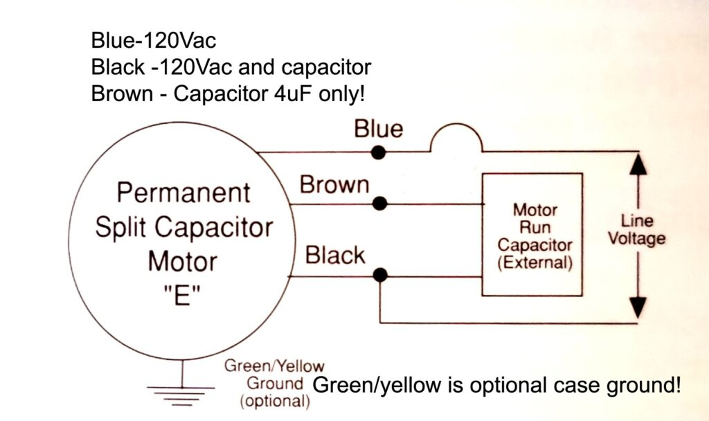 Blower Wiring EBM G2E085-