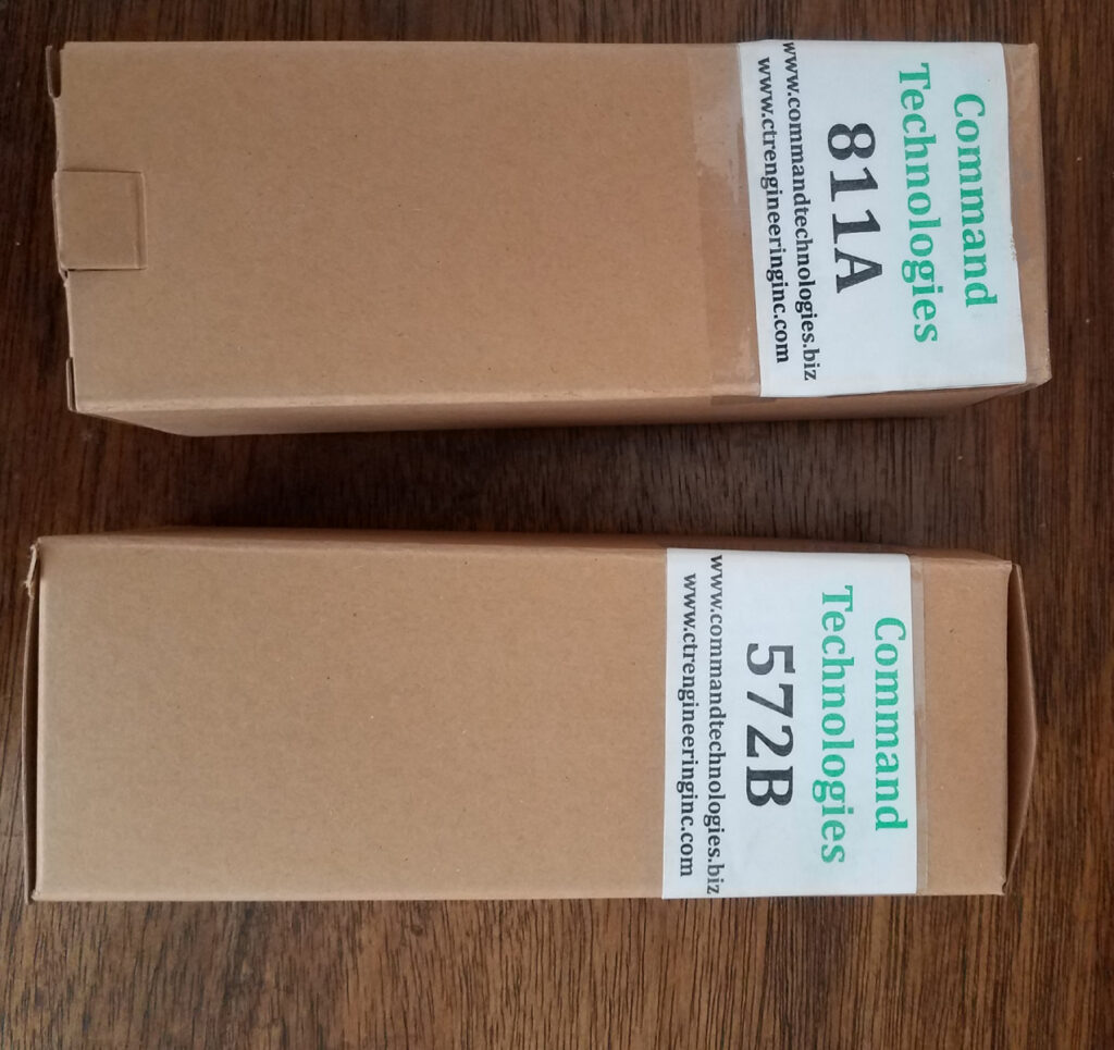 572B and 811A tubes for sale